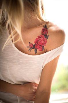 Peony Crescent temporary tattoo by Sasha Unisex. https://www.tattooyou.com/product/sasha-unisex-peony-crescent/