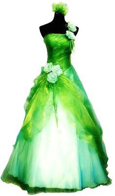 293227b21ba Robe de mariée verte