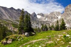 colorado mountains: Colorado Rocky Mountains Landscape in Summer Landscape Walls, Mountain Landscape, Colorado Mountains, Rocky Mountains, Colorado Rockies, Vacation Trips, Dream Vacations, Scenic Wallpaper, Ppr