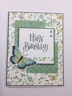 Grußkarten CTMH-Chelsea Gardens - Crafts by Patty Buying Wholesale Apparel for sale Homemade Greeting Cards, Making Greeting Cards, Greeting Cards Handmade, Homemade Cards, Making Cards, Butterfly Cards Handmade, Butterfly Crafts, Handmade Greetings, Birthday Cards For Women