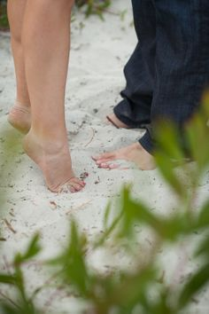 Tiptoes | Carmel Engagement | Carmel Beach, California | Buena Lane Photography