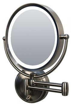 found it at wayfair - jasper mirror in brushed nickelhttp://www, Badezimmer