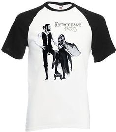 Vintage #fleetwood mac baseball t-shirt, #rumours album cover, #music, rock, band,  View more on the LINK: http://www.zeppy.io/product/gb/2/291548906969/