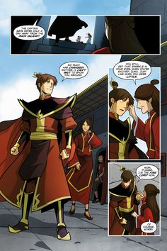 Nickelodeon Avatar: The Last Airbender - Smoke and Shadow Part 1 - Read Nickelodeon Avatar: The Last Airbender - Smoke and Shadow Part 1 comic online in high quality