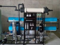 (Reverse Osmosis Water Purification Plant) - Output per hour : Component : MF+CF+RO Size : 2820 * 850 * 1700 Reverse Osmosis Water, Water Purification, Plants, Plant, Water Treatment, Planets