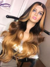 Wig 24 Inches. Ships World Wide - #inches #ships #wide #WIG #world Blonde Ombre, Blonde Highlights, Blonde Hair, Black Friday, Honey Hair, Bleached Hair, Balayage Hair, Human Hair Wigs, Cyber Monday