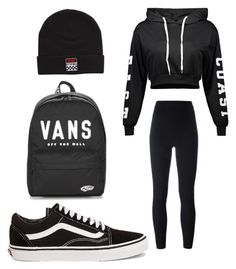 """#Skatepark4life ❤"" by rebe-ki on Polyvore featuring adidas Originals and Vans"