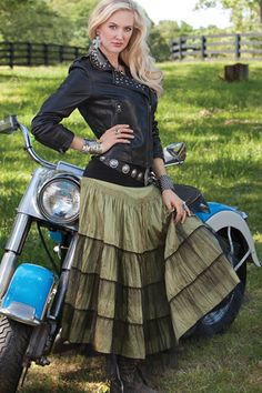 Western Wear Rodeo Cinderella skirt @Michelle McCurrach @ATB Financial #atbfashionroundup