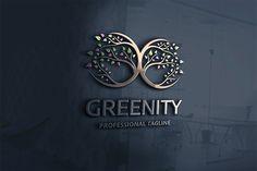 Green Infinity Logo by tkent on Creative Market