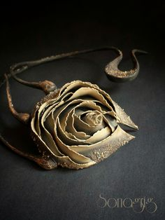 ''The Roses You Gave Me'' Neck Piece