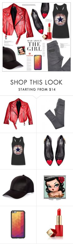 """Mad about THE GIRL"" by mycherryblossom on Polyvore featuring April 77, Love Moschino, River Island, Kershaw, Estée Lauder, shopping, polyvoreeditorial, polyvorestyle and snapmade"