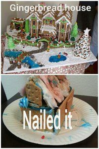 45 hilarious 'nailed it' pictures - christmas edition - laughtard Christmas Humor, Christmas Nails, Epic Fail Photos, Baking Fails, Food Fails, Expectation Vs Reality, Pinterest Fails, Funny Photography, Food Humor