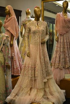 tarun-tahiliani-bridal-anarkalijust the jacket - embroidery and chiffon combo