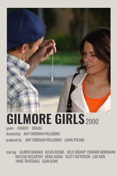 Gilmore Girls Poster, Gilmore Girls Quotes, Iconic Movies, Good Movies, Keiko Agena, Liza Weil, Luke And Lorelai, Scott Patterson, Amy Sherman Palladino