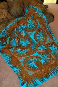 Japanese Fan ~ Quiltworx.com, made by Crisa McCarty