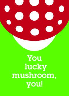 you lucky mushroom