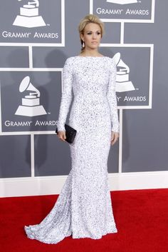 Memorable Outfits From the Grammy Awards | POPSUGAR Fashion Photo 10...2012 Carrie Underwood