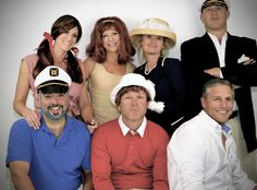 9fc576c6eb3d7 Group Halloween Costume Ideas Gilligans Island Group Costumes. Gilligan  MaryAnn Ginger Sc 1 St Pinterest