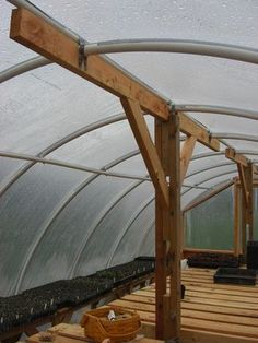 Get inspired ideas for your greenhouse. Build a cold-frame greenhouse. A cold-frame greenhouse is small but effective. Greenhouse Farming, Dome Greenhouse, Greenhouse Ideas, Greenhouse Wedding, Simple Greenhouse, Backyard Greenhouse, Greenhouse Shade Cloth, Portable Greenhouse, Greenhouse Growing