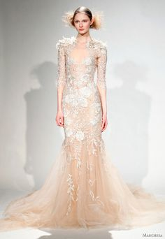 Marchesa.  For the next time I need to simultaneously look naked and ever so slightly overdressed.