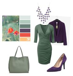 """""""Untitled #319"""" by sm137 on Polyvore featuring Laundry by Shelli Segal, Nine West, JustFab and Charlotte Russe"""