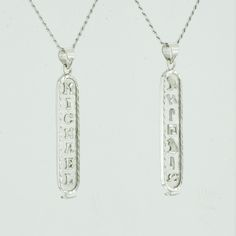 Egyptian Cartouche Necklace  White Gold Plated  Silver  Personalized Name in English & Hieroglyphic Letters  Flat Round  #CR005A    For Details Visit:  https://www.etsy.com/listing/228730861 - By @Danahm1975    #Jewelry #Etsy #Danahm1975 #Silver #HandMade #Fashion #Accessories #MenStyle #WomenStyle #Necklace #Cartouche #RopeChain #CartoucheJewelry #CartoucheNecklace #Hieroglyphs #EgyptianCartouche #Egyptian #Arabic #ArabicJewelry #ArabicNameplate #ArabicNecklace #NameplateNecklace