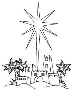 Free printable christian coloring book pages. Bible coloring sheets, coloring book pictures, christian coloring pages and more. Color Bible pictures, characters and more. Online Christian coloring pages of Easter and Christmas too! Nativity Coloring Pages, Star Coloring Pages, Christmas Coloring Pages, Coloring Books, Coloring Sheets, Christian Christmas Cards, Christmas Bible, Christmas Stars, Christmas Images