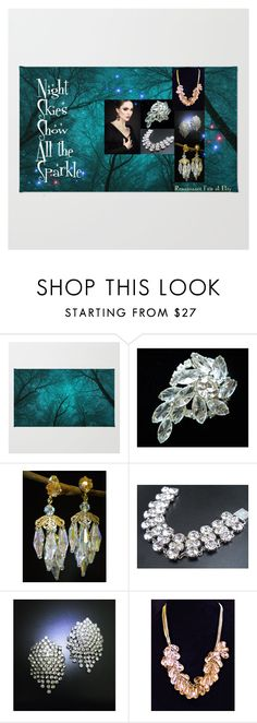 """""""Night Skies Show All the Sparkle"""" by renaissance-fair ❤ liked on Polyvore"""