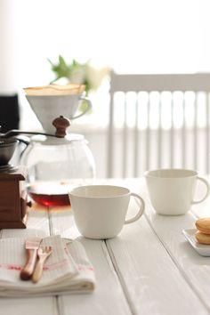 一日の始まりを大事に。「毎朝のマグカップ」を新調しました