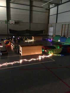 Thema Kerstmis lichtjesomloop