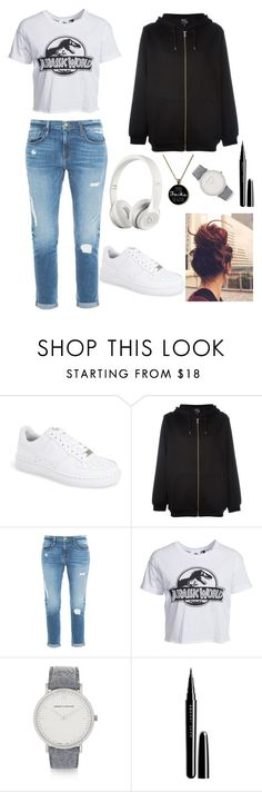 """Untitled #74"" by marlynalexandria ❤ liked on Polyvore featuring moda, NIKE, McQ by Alexander McQueen, Frame Denim, New Look, Beats by Dr. Dre, Larsson & Jennings, Marc Jacobs, women's clothing y women"
