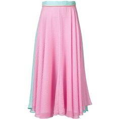Roksanda Long Colour Block Skirt