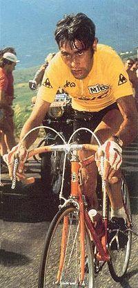 Luis Ocana, the man who inspired Motobecane to make orange bikes.