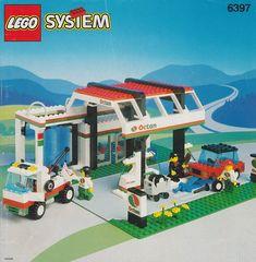 LEGO 6397-1: Gas N' Wash Express   Brickset: LEGO set guide and database