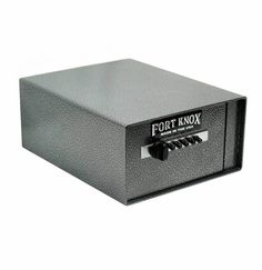The Fort Knox Personal Pistol Safe is the prefect safe to keep your handguns in. It is also small enough for you to be able to store it in a nightstand. This will allow speedy access to your handguns. #guns #safe #pistol http://www.deansafe.com/fort-knox-personal-pistol-safe.html