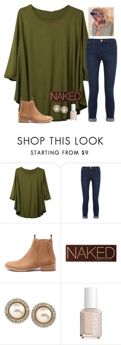 """""""Almost forgot to post"""" by raquate1232 ❤ liked on Polyvore featuring Frame Denim, Mollini, Urban Decay, Carolee and Essie"""