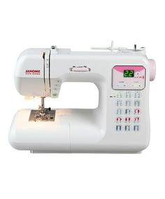 Take a look at this Heavy-Duty DC4030P Sewing Machine Set by Janome on #zulily today! $450 !!