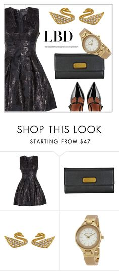 """""""LBD"""" by jomashop ❤ liked on Polyvore featuring Marc by Marc Jacobs, Anne Klein, RED Valentino, black and LBD"""