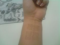"""Third... left wrist. """"Me protect you."""" The Fifth Element #tattoo"""