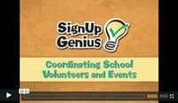 The SignUpGenius free webinars are available online for all of your planning needs. Learn tips for coordinating school activities, planning your swim team season volunteers, organizing parent teacher conferences and maximizing fundraising efforts.