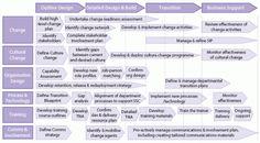 Generic business unit transition plan.