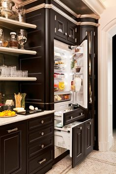 GE Monogram Fully integrated refrigerators