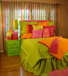 Tween/Teen Bedding | Lime Sensation Teen Bedding - Sweet and Sour Kids