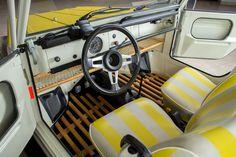 "1973 Volkswagen Type 181 ""The Thing"" Volkswagen Safari, Volkswagen Interior, Volkswagen 181, Volkswagen Models, Vw Bus, Vw Baja Bug, 4x4, Kia Picanto, City Car"