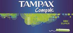 Este verão aproveite o bom tempo com Tampax Compak