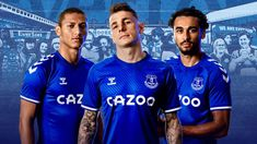 Everton And hummel Reveal 2020/21 Home Kit