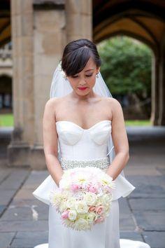 Amazingly chic dress: http://www.stylemepretty.com/australia-weddings/2015/01/22/modern-elegant-melbourne-wedding/ | Photography: Dani Burley - www.loveyousweetheart.com.au/