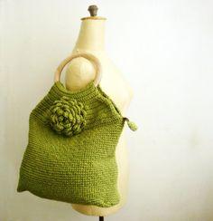 Crocheted Bag PDF Pattern 48 by PATTERNSbyFAIMA on Etsy