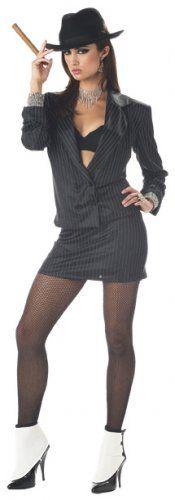 Mafia Princess Adult Women Costume - Large