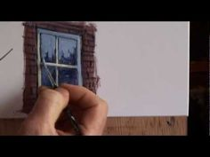 """Painting Straight Lines in Acrylic Painting - """"Painting Problem Solver"""" by Paul Taggart - YouTube"""